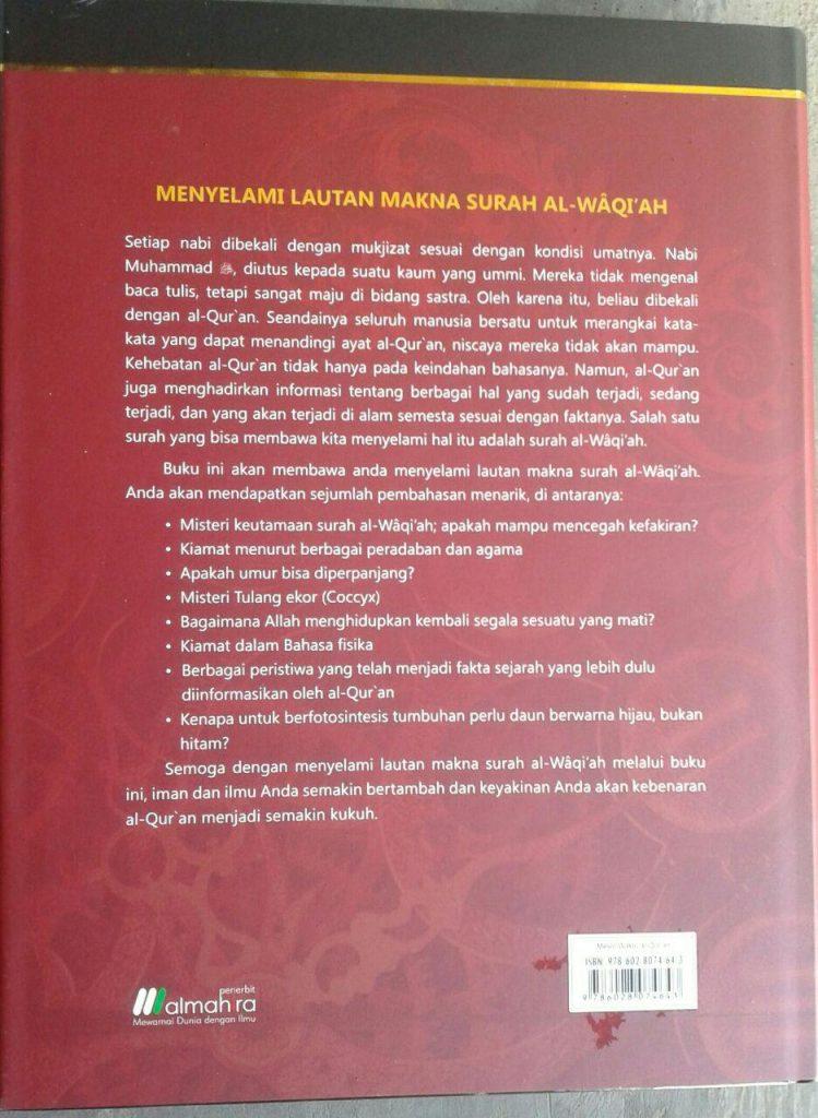 Buku Mesin Waktu Al-Quran Menelusuri Masa:Lalu, Kini,& Depan cover