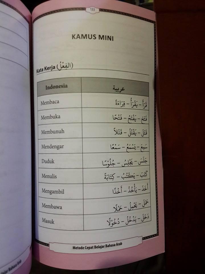 Buku Metode Cepat Belajar Bahasa Arab El-Matroed Isi 1