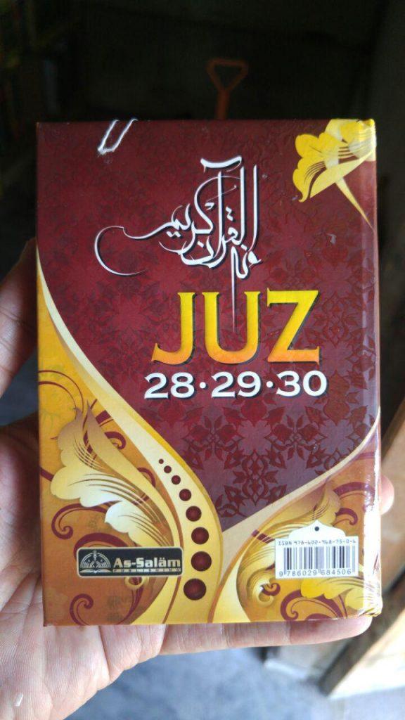 Buku Metode Cepat Hafal Al-Qur'an Plus Bonus Juz 28-30 cover 2