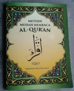 Buku Metode Mudah Membaca Al-Qur'an Iqro cover 2