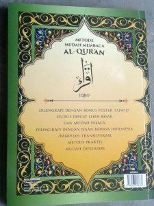 Buku Metode Mudah Membaca Al-Qur'an Iqro cover