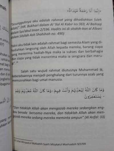 Buku Mimpi Bertemu Nabi shallallahu 'alaihi wa sallam Isi