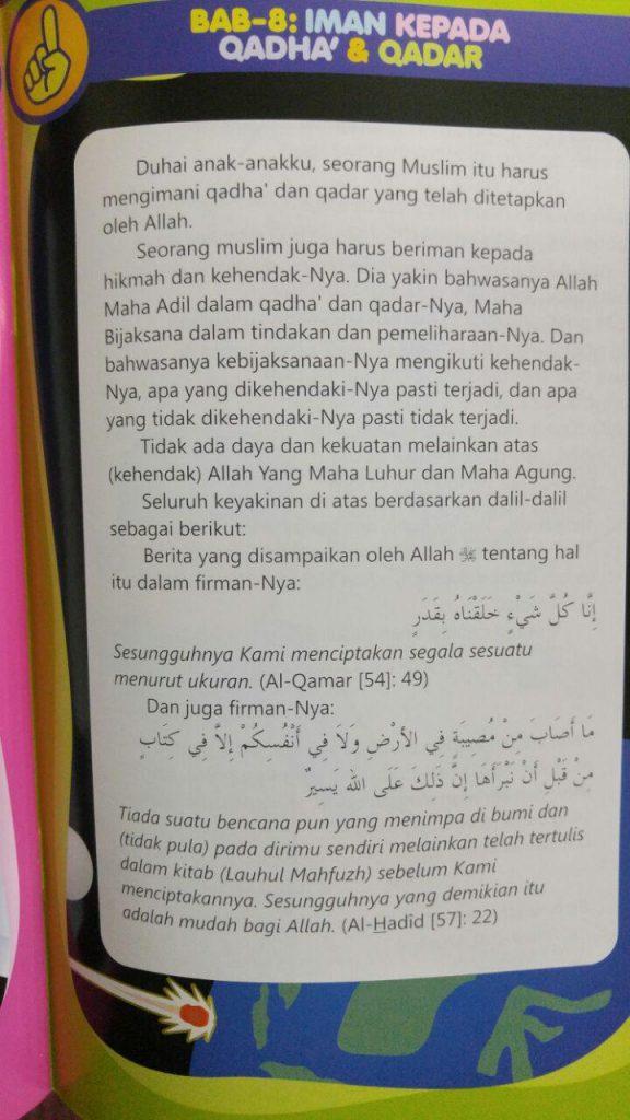 Buku Minhajul Muslim Anak Isi 2