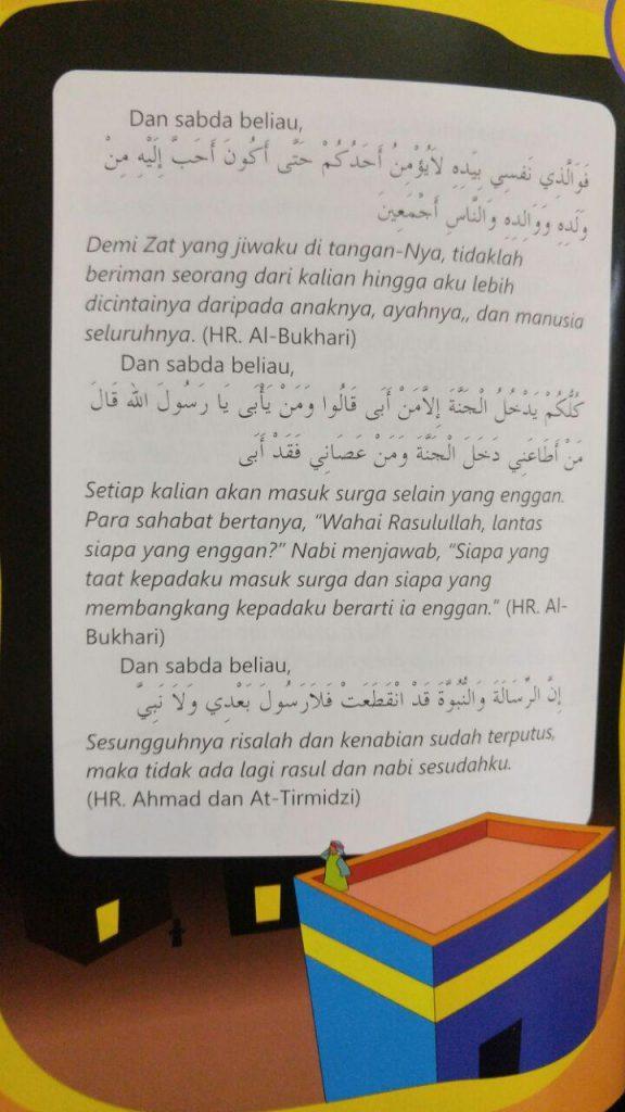 Buku Minhajul Muslim Anak Isi 3