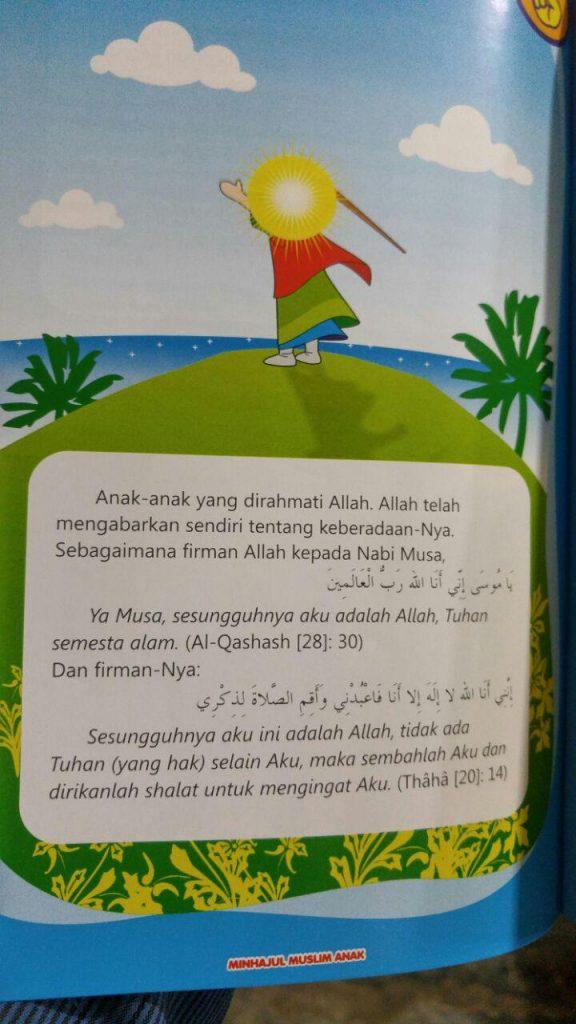 Buku Minhajul Muslim Anak Isi