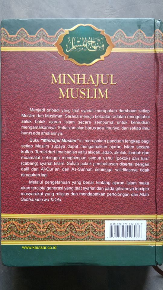 Buku Minhajul Muslim cover 2
