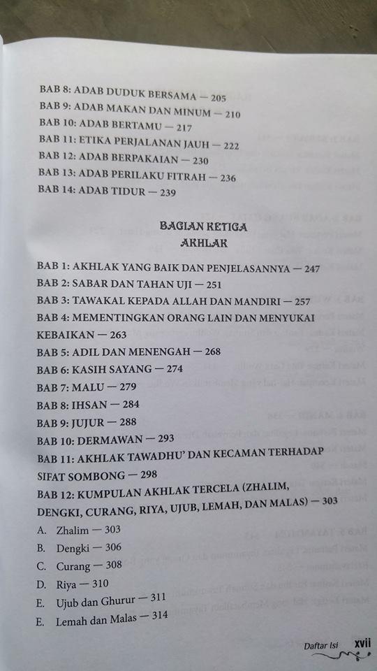 Buku Minhajul Muslim isi 2