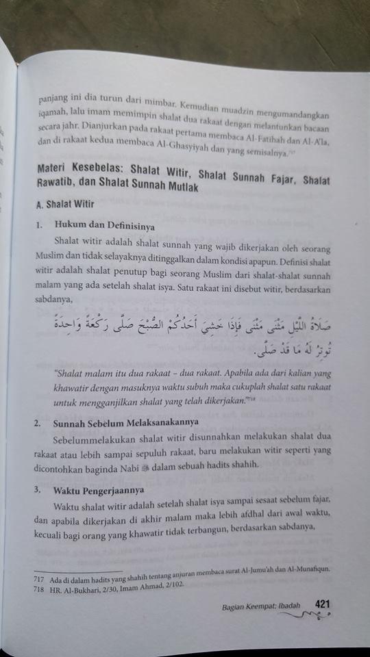 Buku Minhajul Muslim isi