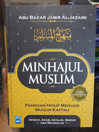 Buku Minhajul Muslim Panduan Hidup Muslim Kaffah Cover