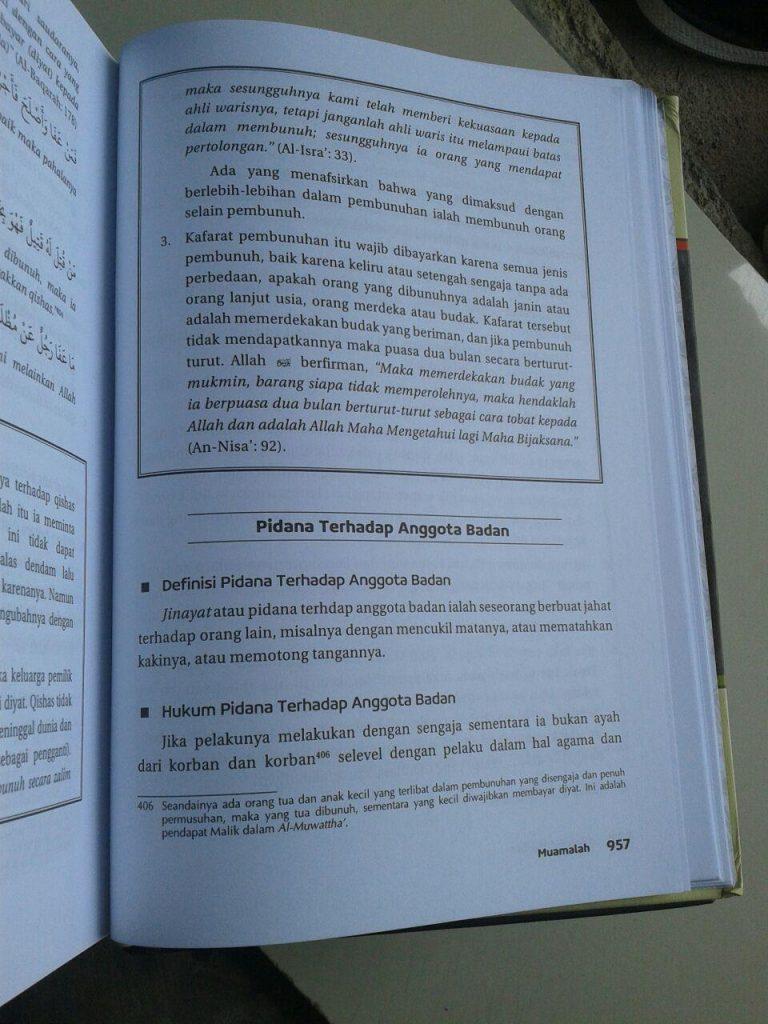Buku Minhajul Muslim Pedoman Hidup Harian Seorang Muslim isi 5