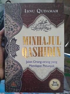 Buku Minhajul Qashidin Jalan Orang Mendapat Petunjuk Cover