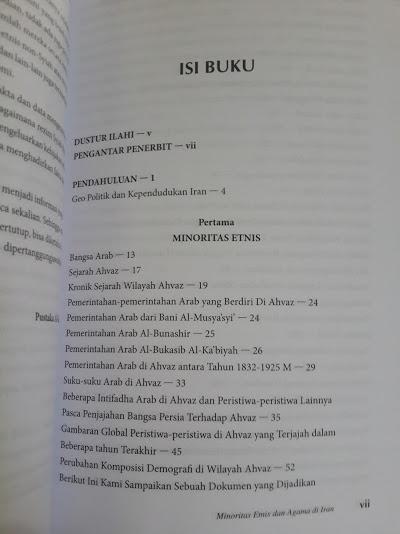 Buku Minoritas Etnis Dan Agama Di Iran Daftar Isi