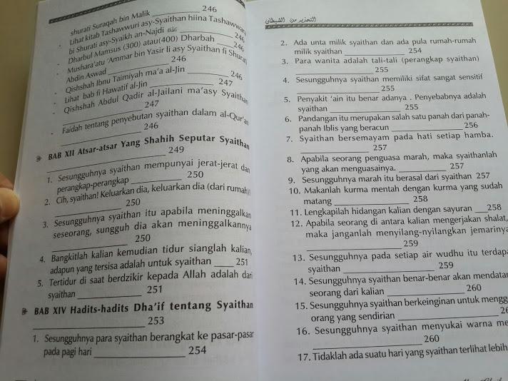 Buku Misteri Alam Ghaib Daftar Isi