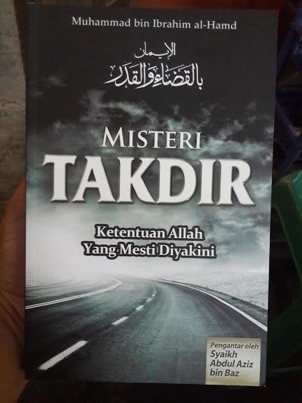Buku Misteri Takdir Ketentuan Allah Yang Mesti Diyakini Cover