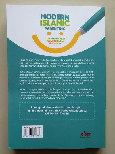 Buku Modern Islamic Parenting Cara Mendidik Anak Masa Kini Cover Belakang