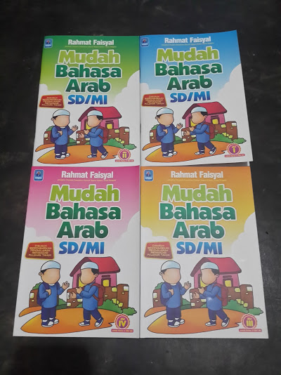 Buku Mudah Bahasa Arab SD MI Cover Set