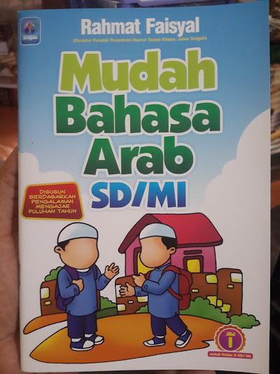 Buku Mudah Bahasa Arab SD MI Cover