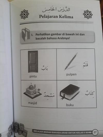 Buku Mudah Bahasa Arab SD MI Isi