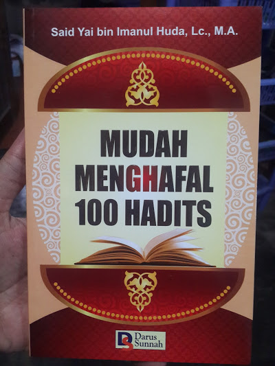 Buku Mudah Menghafal 100 Hadits Cover