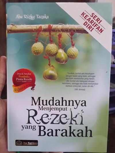 Buku Mudahnya Menjemput Rezeki Yang Barakah Cover
