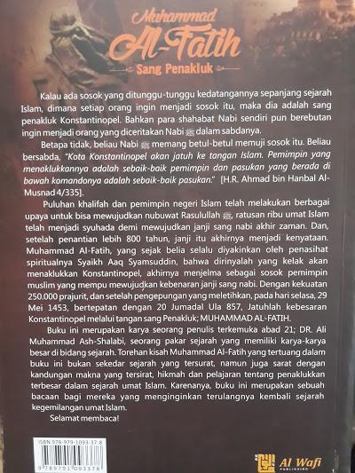 Buku Muhammad Al-Fatih Sang Penakluk Konstantinopel Cover 2