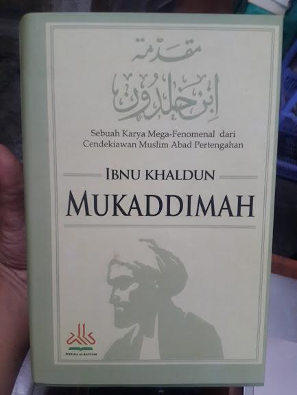 Buku Mukaddimah Ibnu Khaldun Cover
