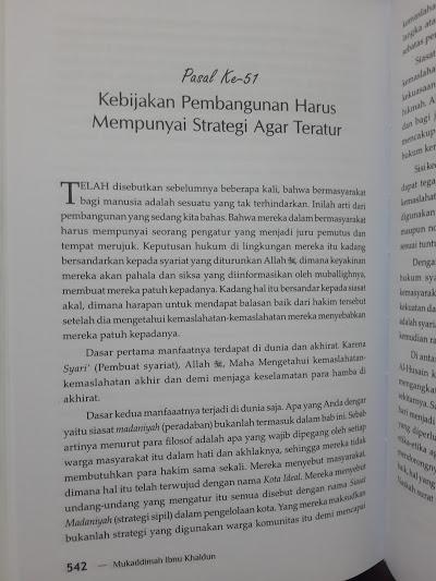 Buku Mukaddimah Ibnu Khaldun Isi
