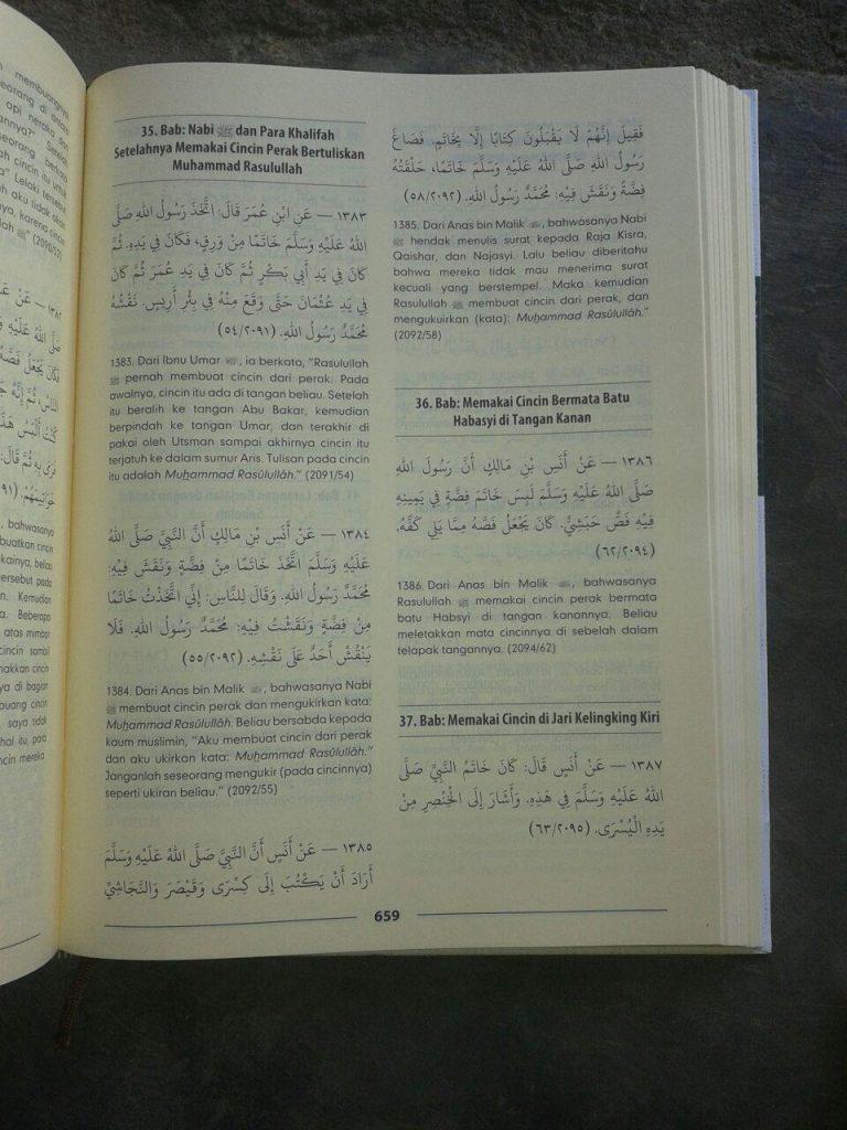 Buku Mukhtashar Shahih Muslim isi 3