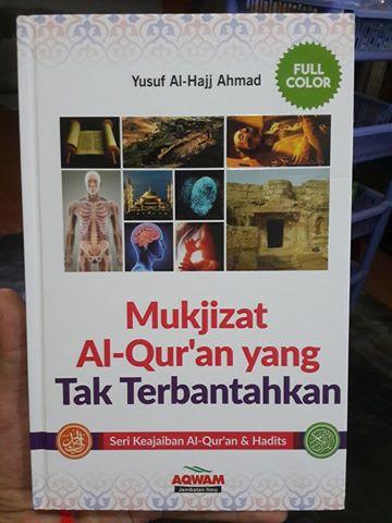 Buku Mukjizat Al-Qur'an Yang Tak Terbantahkan Cover