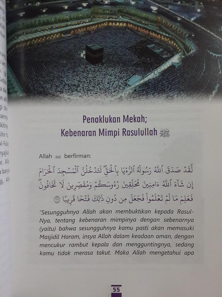 Buku Mukjizat Al-Qur'an Yang Tak Terbantahkan Isi 3