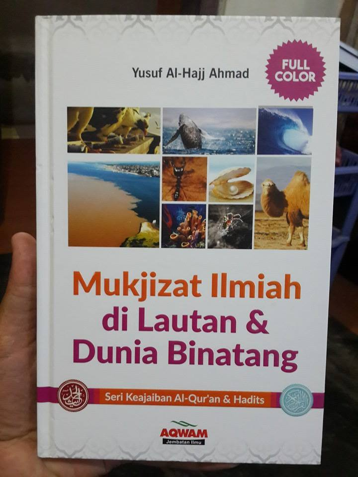 Buku Mukjizat Ilmiah Di Lautan Dan Dunia Binatang