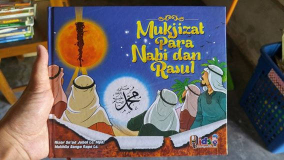 Buku Anak Mukjizat Para Nabi Dan Rasul cover