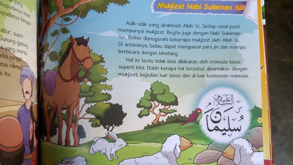 Buku Anak Mukjizat Para Nabi Dan Rasul isi 2