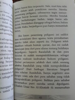 Buku Mukjizat Poligami Isi