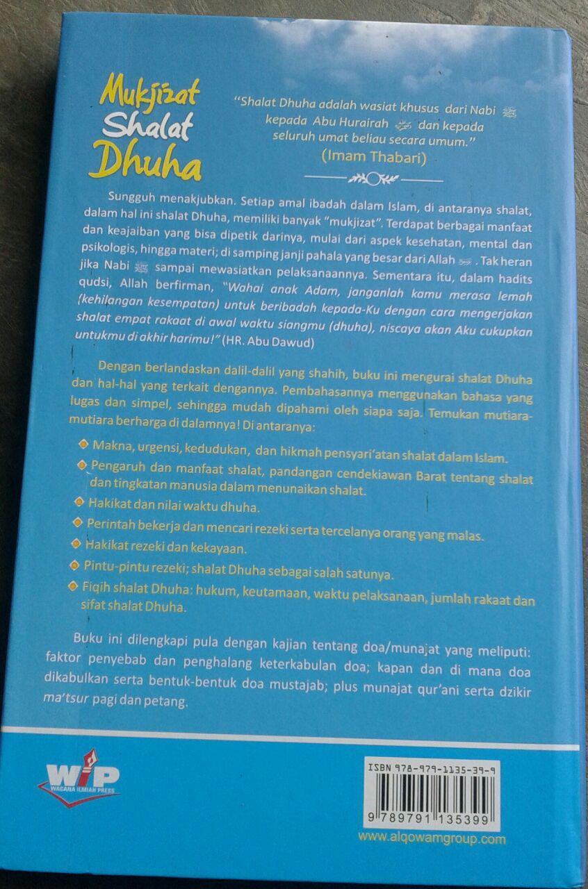 Buku Mukjizat Shalat Dhuha Makna Hikmah Pengaruh Dan Manfaat cover 2