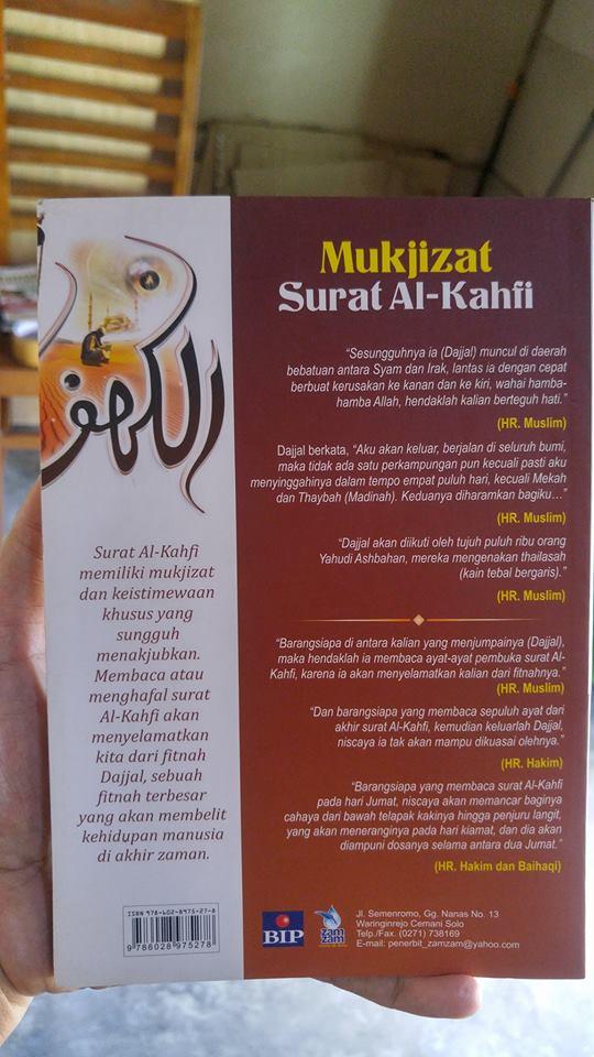mukjizat surat al-kahfi buku cover 2