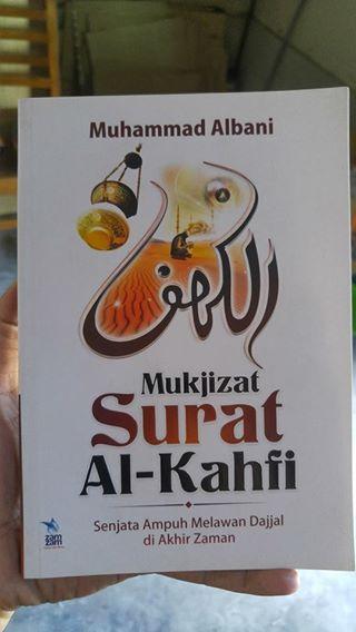 mukjizat surat al-kahfi buku cover
