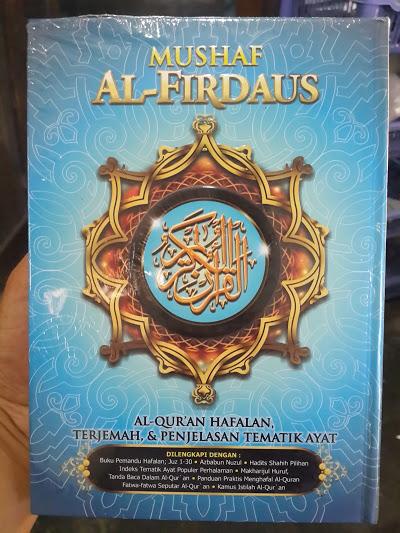 Mushaf Al-Firdaus Al-Qur'an Hafalan Dan Terjemah Cover