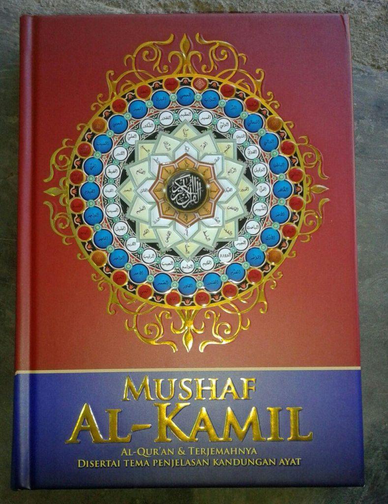 Al-Quran Mushaf Terjemah & Tema Penjelasan Kandungan Ayat cover