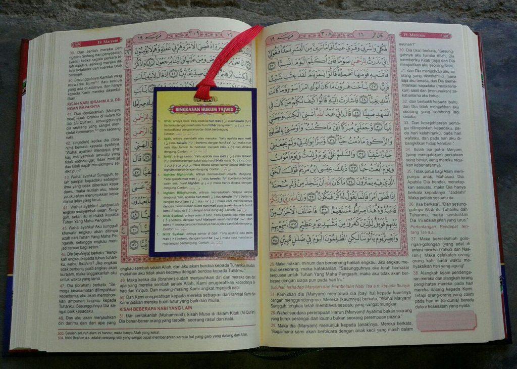Al-Quran Mushaf Terjemah & Tema Penjelasan Kandungan Ayat isi 2