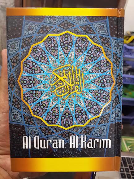 Mushaf Al-Qur'an Al-Karim Tanpa Terjemah Ukuran B6 Cover