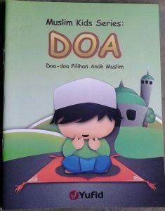 Buku Anak Muslim Kids Series Doa Doa Pilihan Anak Muslim isi 2