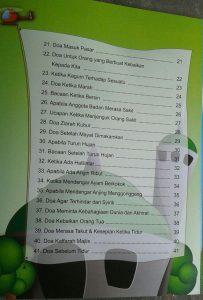 Buku Anak Muslim Kids Series Doa Doa Pilihan Anak Muslim isi 3