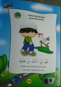 Buku Anak Muslim Kids Series Doa Doa Pilihan Anak Muslim isi 5
