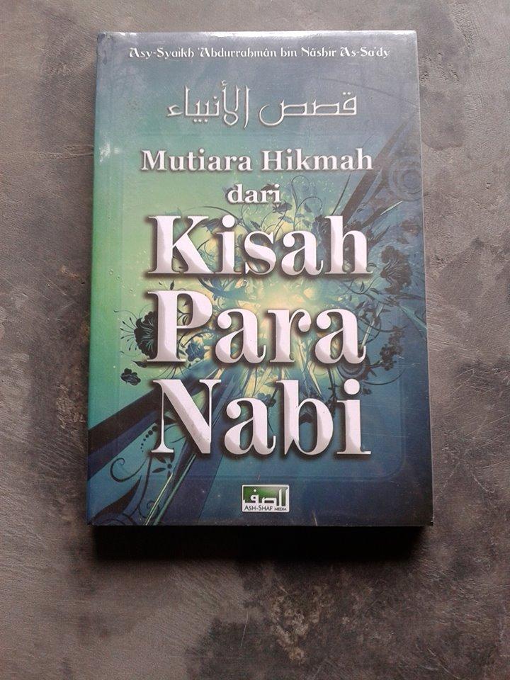 Buku Mutiara Hikmah Dari Kisah Para Nabi cover
