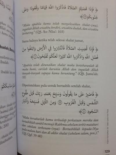 Buku Mutiara Nasihat Ramadhan 20 Kajian Ramadhan Seri 1 Cover 2 Isi