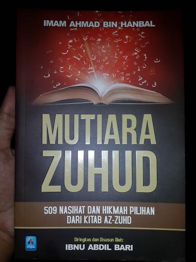 Buku Mutiara Zuhud 509 Nasihat Dan Hikmah Pilihan Cover