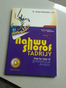 Buku Nahwu Shorof Tadrijy Step By Step Of Gramatical Arabic cover 2