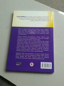 Buku Nahwu Shorof Tadrijy Step By Step Of Gramatical Arabic cover