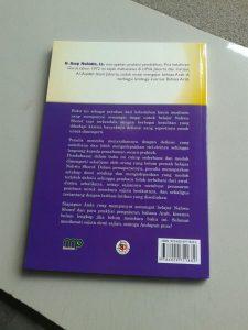 Buku Nahwu Shorof Tadrijy Step By Step Of Gramatical Arabic cover